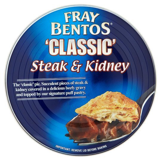 Grocemania Grocery Delivery London| Fray Bentos Steak And Kidney Pie 425G