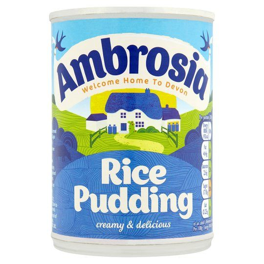 Grocery Delivery London - Ambrosia Creamed Rice 400g same day delivery
