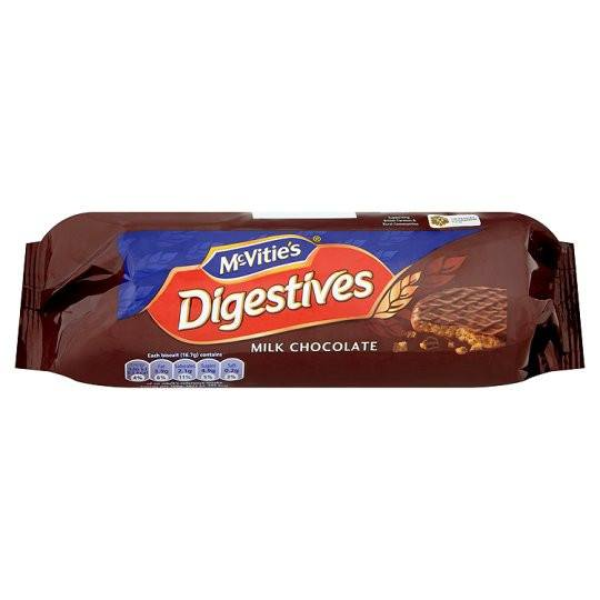 Grocery Delivery London - McVitie's Milk Chocolate Digestives 300g same day delivery