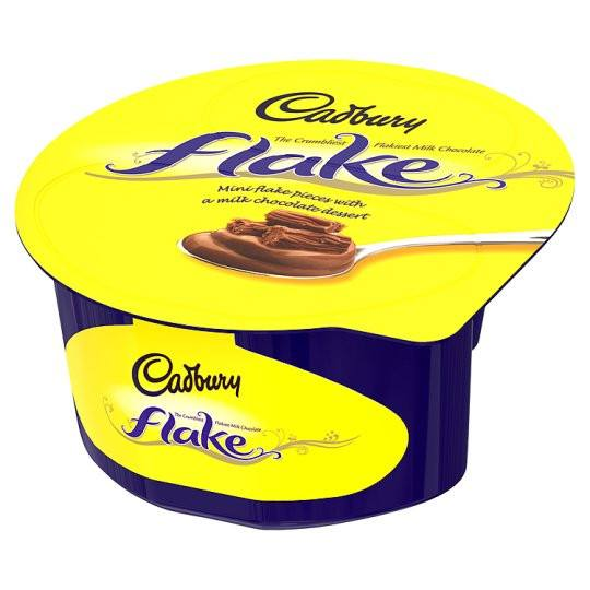 Grocemania Same Day Grocery Delivery London | Cadbury Flake Twin Pot 90g