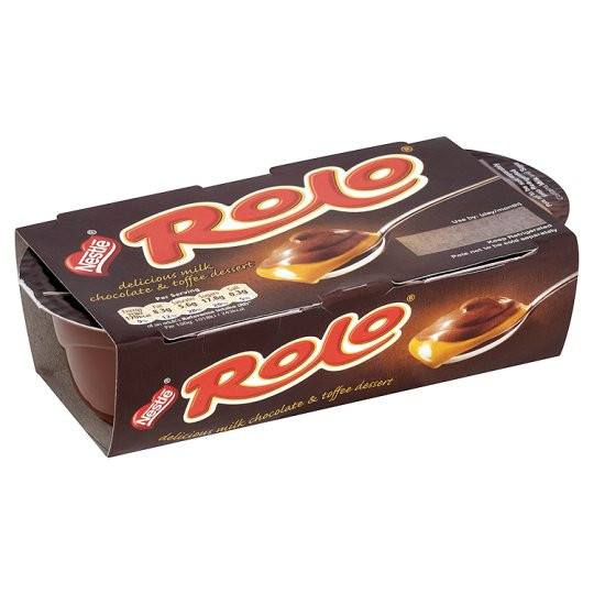 Grocery Delivery London - Nestle Rolo Dessert 2X70g same day delivery