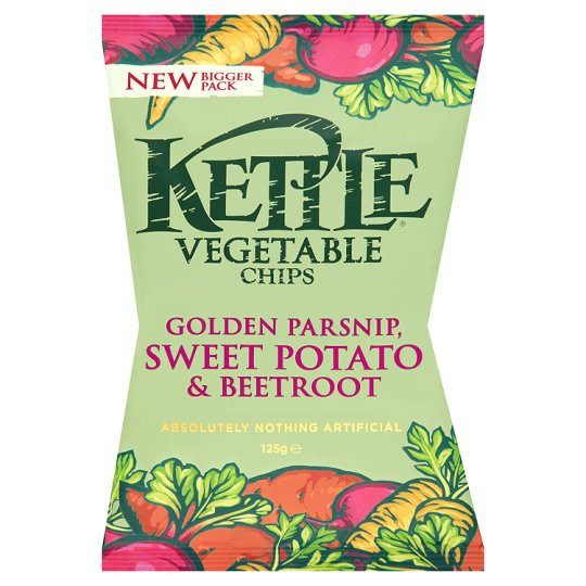 Grocery Delivery London - Kettle Chips Vegetable 125g same day delivery