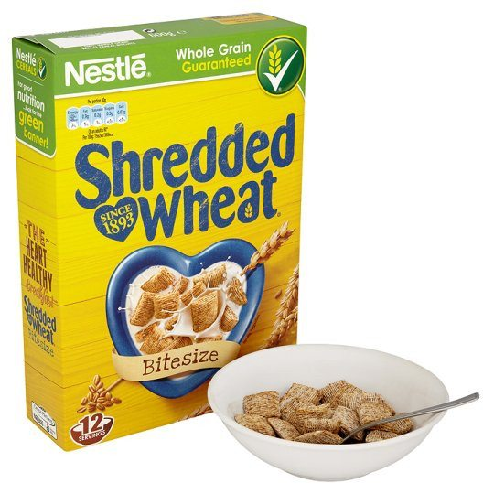 Grocemania Grocery Delivery London| Nestle Shredded Wheat Bitesize 500g