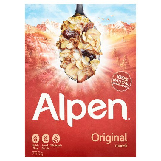 Grocemania Same Day Grocery Delivery London | Alpen Original Muesli 750g