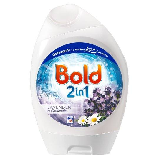 Grocemania Grocery Delivery London| Bold Washing Gel Lavender And Camomile 24 Washes 888ml