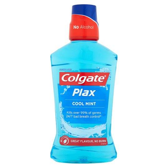 Grocemania Grocery Delivery London| Colgate Plax Cool Mint Mouthwash 100ml