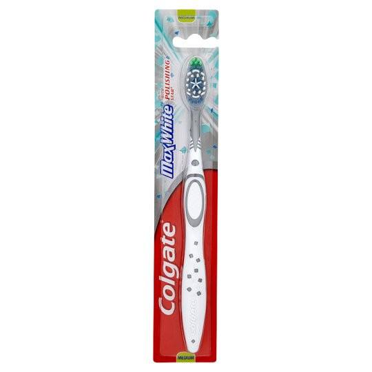 Grocemania Grocery Delivery London| Colgate Maxwhite Medium Toothbrush