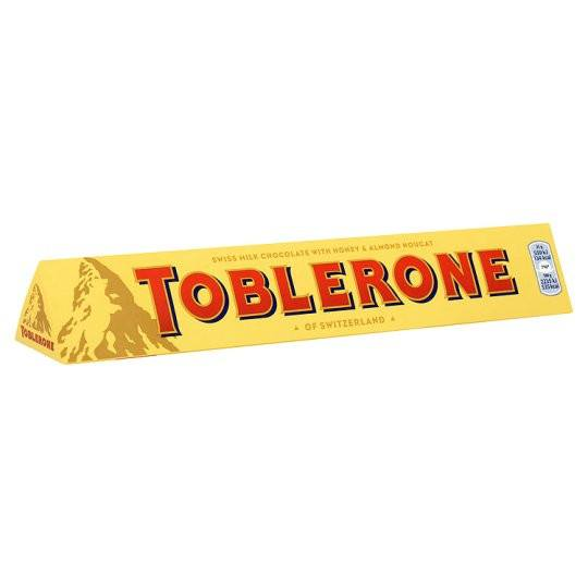 Grocery Delivery London - Toblerone Milk Chocolate 100g same day delivery