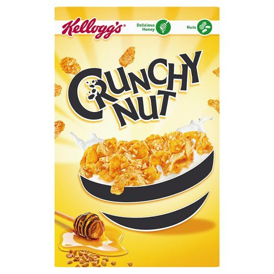 Grocemania Grocery Delivery London| Kelloggs Crunchy Nut 500g