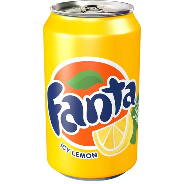 Grocemania Grocery Delivery London| Fanta Lemon 330ml