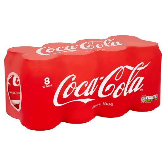 Grocemania Grocery Delivery London| Coca Cola Regular 8X330ml