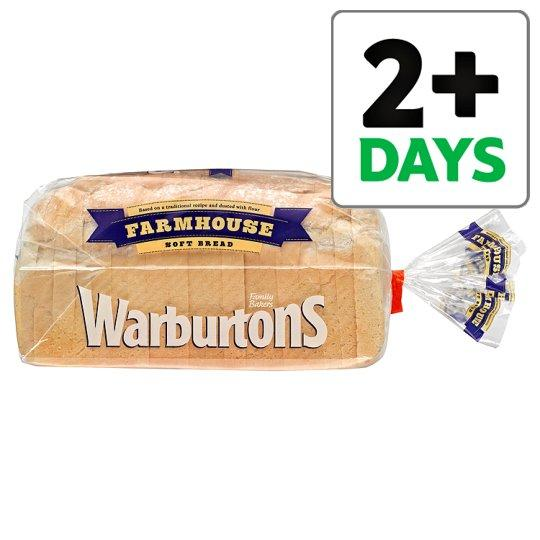 Grocemania Grocery Delivery London| Warburtons Farmhouse White Bread 800g