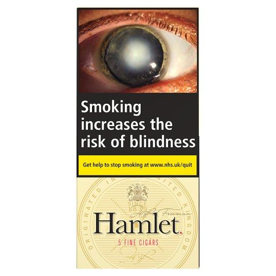 Grocery Delivery London - Hamlet Fine Cigars 5 Pack same day delivery