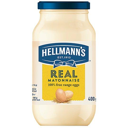 Grocemania Grocery Delivery London| Hellmann's Real Mayonnaise 400g