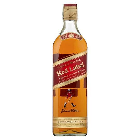 Grocemania Grocery Delivery London| Johnnie Walker Red Label Whisky 70cl