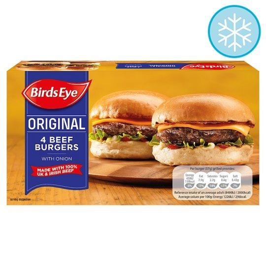 Grocemania Same Day Grocery Delivery London | Birds Eye 4 Original Beef Burgers 227g