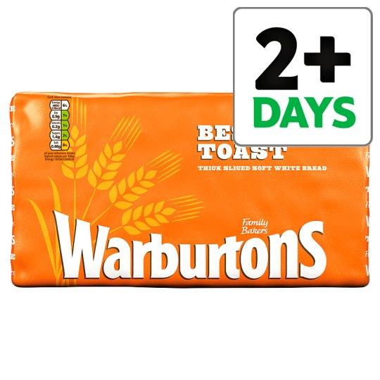 Grocery Delivery London - Warburtons Toastie Sliced White Bread 800g same day delivery