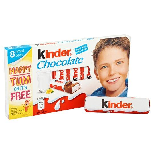 Grocemania Grocery Delivery London| Kinder Chocolate Multipack Bars 8x12.5g