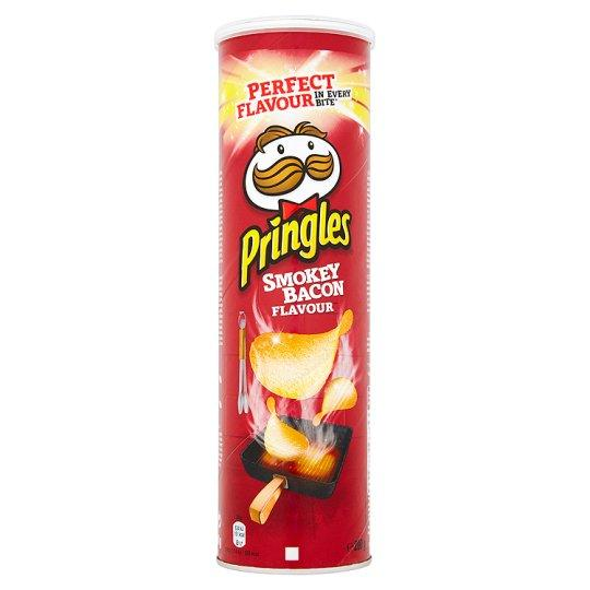Grocery Delivery London - Pringles Smokey Bacon Crisps 200g same day delivery