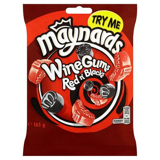 Grocery Delivery London - Maynards Reds And Blacks 165g same day delivery