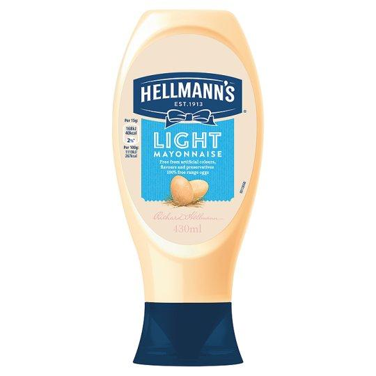 Grocemania Grocery Delivery London| Hellmann's Light Squeezy Mayonnaise 430ml