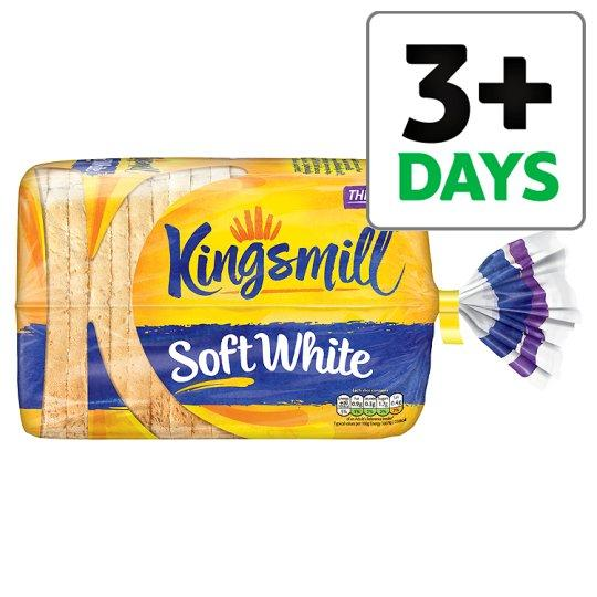 Grocemania Grocery Delivery London| Kingsmill Soft White Thick Bread 800g