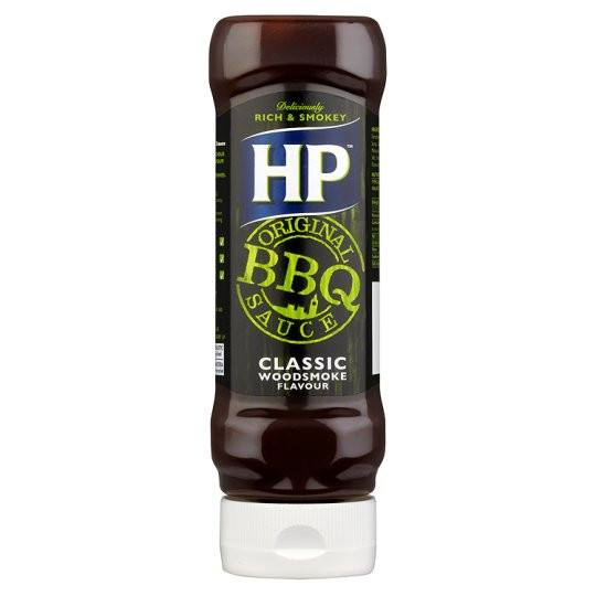 Grocery Delivery London - HP BBQ Classic Woodsmoke Sauce 465g same day delivery