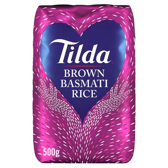 Grocemania Grocery Delivery London| Tilda Basmati Brown Rice 500g