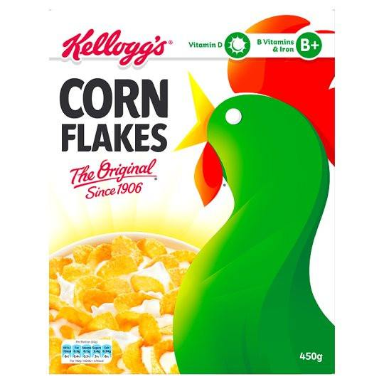 Grocery Delivery London - Kelloggs Cornflakes 450g same day delivery