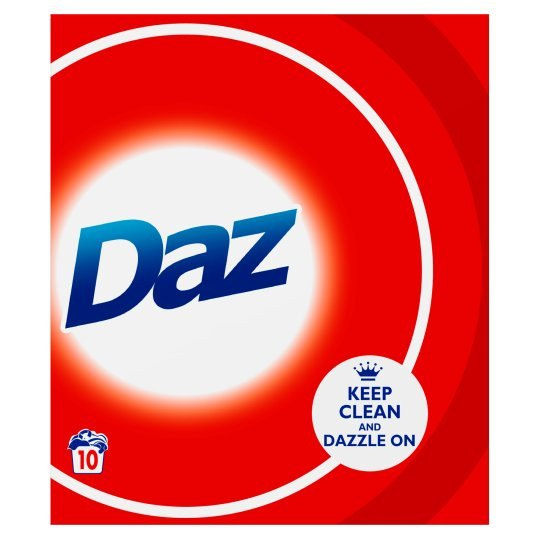 Grocemania Grocery Delivery London| Daz Washing Powder 10 Washes 650g
