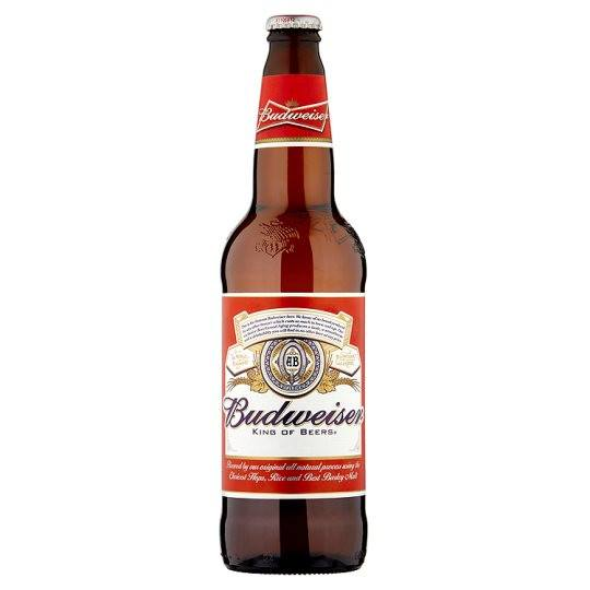 Grocery Delivery London - Budweiser Lager 660ml same day delivery