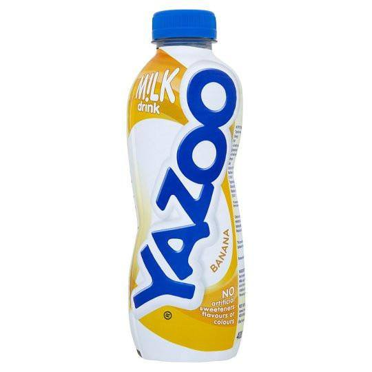 Grocery Delivery London - Yazoo Banana 400ml same day delivery