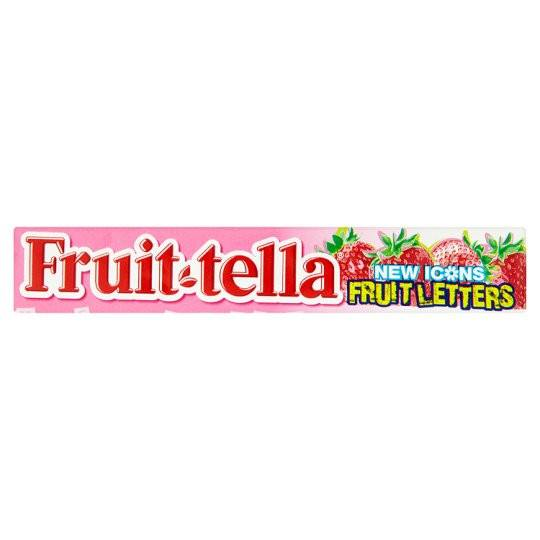 Grocemania Grocery Delivery London| Fruittella Fruit Letters 41g