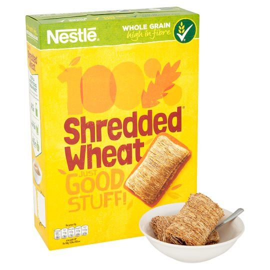 Grocemania Grocery Delivery London| Nestle Shredded Wheat Cereal 415g