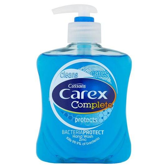Grocemania Grocery Delivery London| Carex Handwash Bacteria Protect 250ml