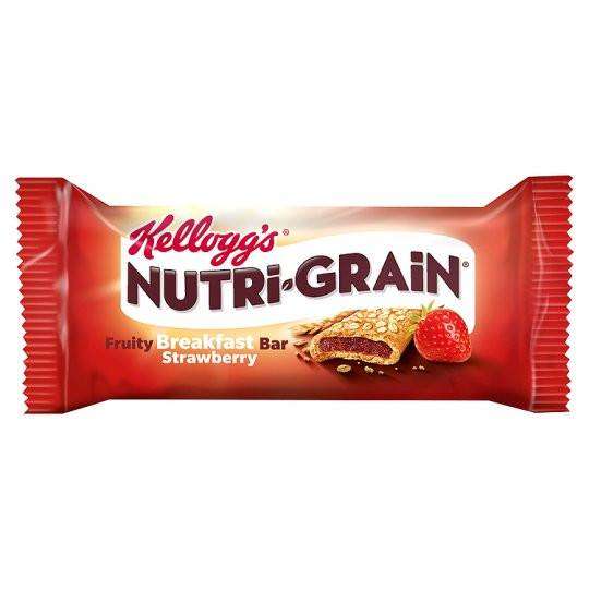 Grocemania Grocery Delivery London| Kelloggs Nutrigrain Strawberry 37g