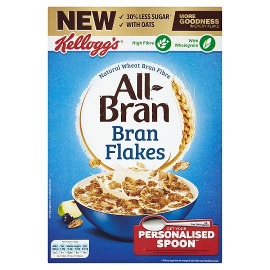 Grocery Delivery London - Kelloggs Bran Flakes 500g same day delivery