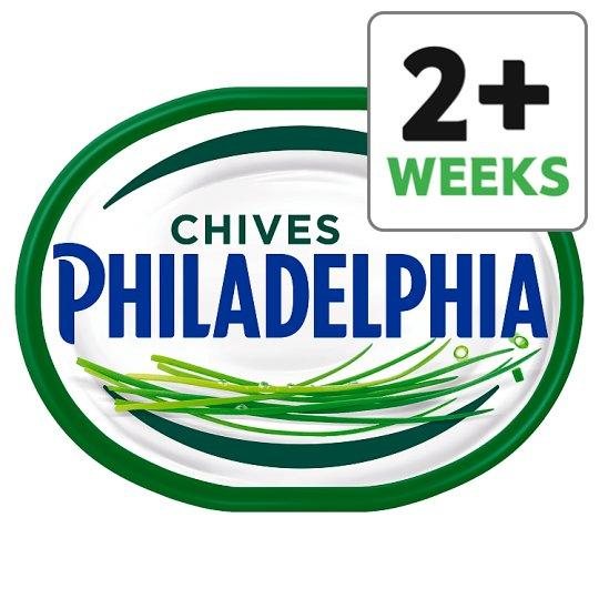 Grocery Delivery London - Philadelphia Light Soft Cheese With Chives 170g same day delivery