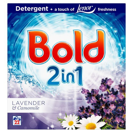 Grocemania Grocery Delivery London| Bold Washing Powder Lavender And Camomile 1.43Kg 22 Washes