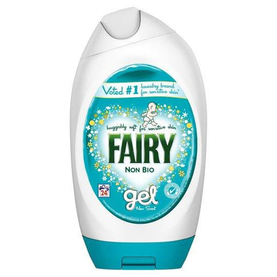 Grocemania Grocery Delivery London| Fairy Non Bio Washing Gel 24 Washes 880ml