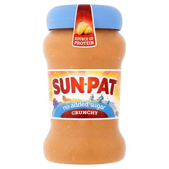 Grocemania Grocery Delivery London| Sunpat Peanut Butter Crunchy No Added Sugar 340g