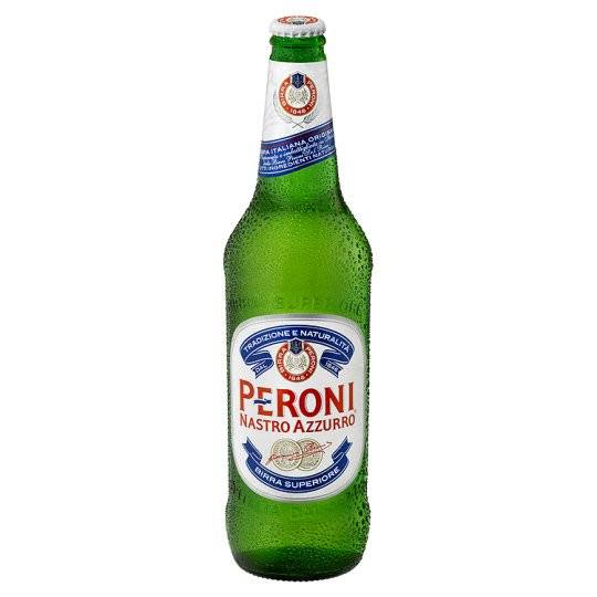 Grocemania Grocery Delivery London| Peroni Nastro Azzurro 620ml