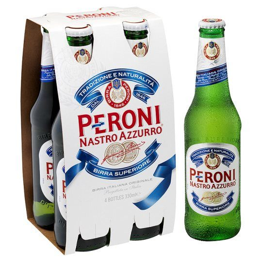 Grocery Delivery London - Peroni Nastro Azzurro 4x330ml same day delivery