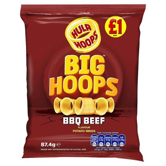 Grocemania Grocery Delivery London| Big Hoops BBQ 87.4g