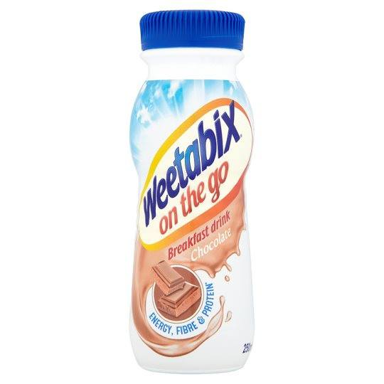 Grocery Delivery London - Weetabix On The Go Drink Chocolate 250ml same day delivery