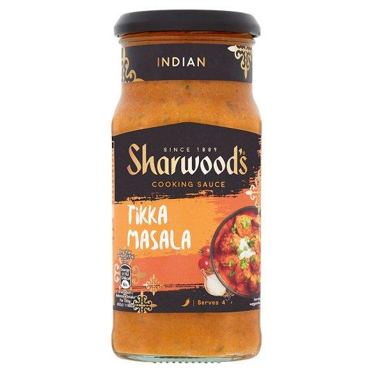 Grocemania Grocery Delivery London| Sharwoods Tikka Masala Mild Medium Sauce 420g