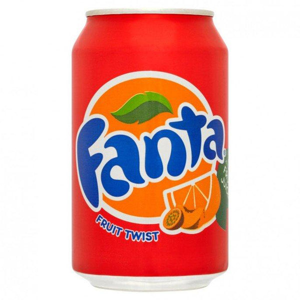 Grocery Delivery London - Fanta Fruit Twist 330ml same day delivery