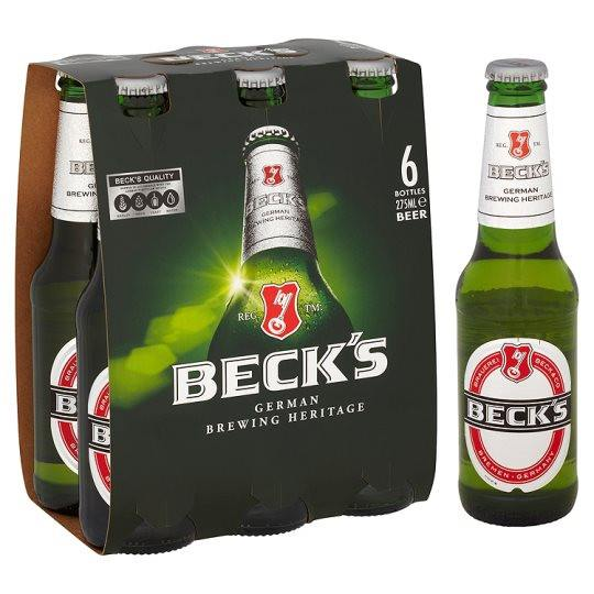 Grocemania Grocery Delivery London| Beck's 6x275ml