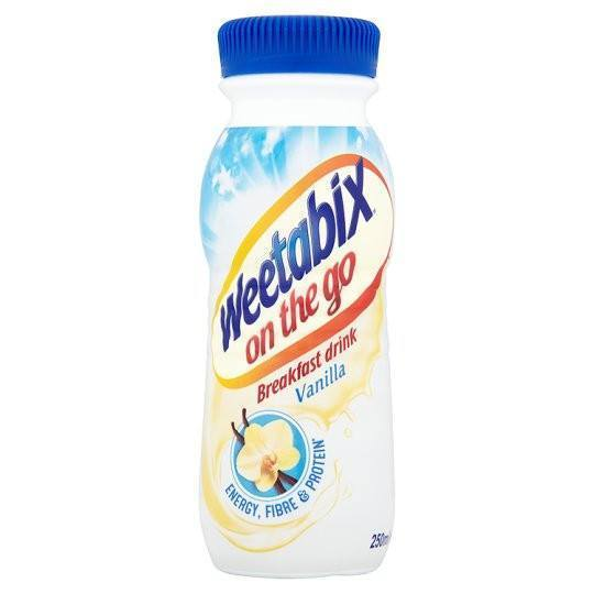 Grocemania Grocery Delivery London| Weetabix On The Go Drink Vanilla 250ml