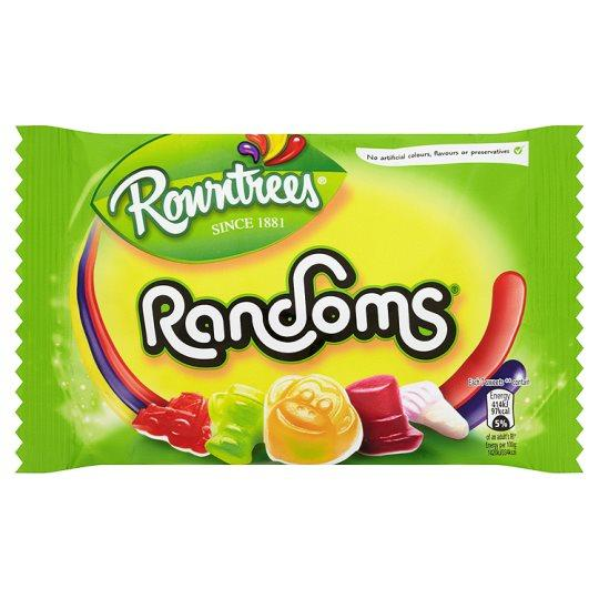 Grocemania Grocery Delivery London| Rowntrees Randoms 50g